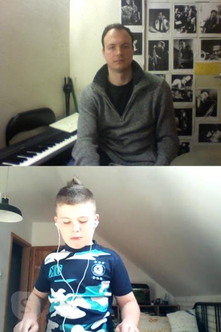 Zajęcia zdalne w Szkole Muzycznej I st. w Witowicach