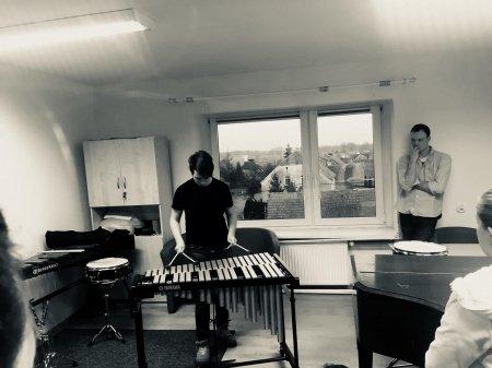 Lekcje otwarte w klasie perkusji